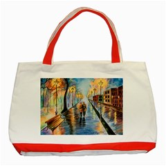 Just The Two Of Us Classic Tote Bag (red) by TonyaButcher