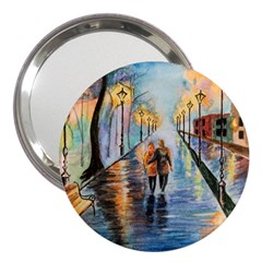 Just The Two Of Us 3  Handbag Mirror by TonyaButcher