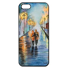 Just The Two Of Us Apple Iphone 5 Seamless Case (black) by TonyaButcher