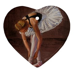 Ballerina Heart Ornament by TonyaButcher