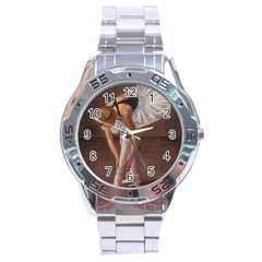 Ballerina Stainless Steel Watch by TonyaButcher