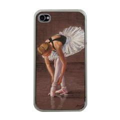 Ballerina Apple Iphone 4 Case (clear) by TonyaButcher