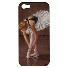 Ballerina Apple Iphone 5 Hardshell Case by TonyaButcher