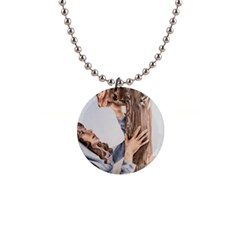 Stabat Mater Button Necklace