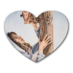 Stabat Mater Mouse Pad (heart) by TonyaButcher