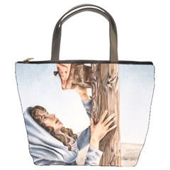 Stabat Mater Bucket Handbag by TonyaButcher
