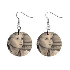 Light1 Mini Button Earrings by TonyaButcher