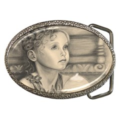 Light1 Belt Buckle (oval) by TonyaButcher