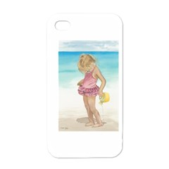 Beach Play Sm Apple Iphone 4 Case (white) by TonyaButcher