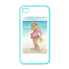 Beach Play Sm Apple Iphone 4 Case (color) by TonyaButcher