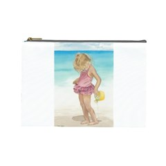 Beach Play Sm Cosmetic Bag (large) by TonyaButcher