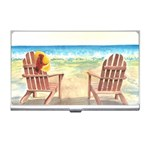 Time To Relax Business Card Holder Front