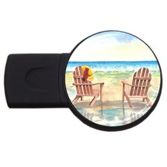 Time To Relax 4gb Usb Flash Drive (round) by TonyaButcher