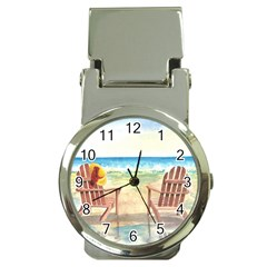 Time To Relax Money Clip With Watch by TonyaButcher