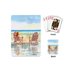 Time To Relax Playing Cards (mini) by TonyaButcher
