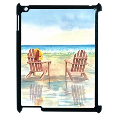 Time To Relax Apple Ipad 2 Case (black) by TonyaButcher