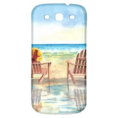 Time To Relax Samsung Galaxy S3 S Iii Classic Hardshell Back Case by TonyaButcher