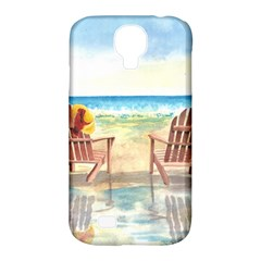 Time To Relax Samsung Galaxy S4 Classic Hardshell Case (pc+silicone) by TonyaButcher