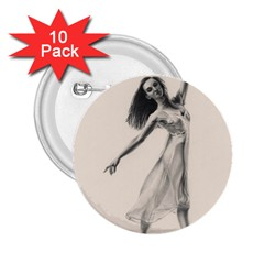 Perfect Grace 2 25  Button (10 Pack) by TonyaButcher