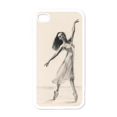 Perfect Grace Apple Iphone 4 Case (white) by TonyaButcher