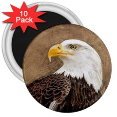 Eagle 3  Button Magnet (10 Pack) by TonyaButcher