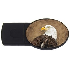 Eagle 2gb Usb Flash Drive (oval) by TonyaButcher