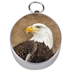 Eagle Silver Compass by TonyaButcher