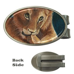 Playful  Money Clip (oval) by TonyaButcher