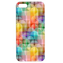 Circles Apple Iphone 5 Hardshell Case With Stand by Lalita