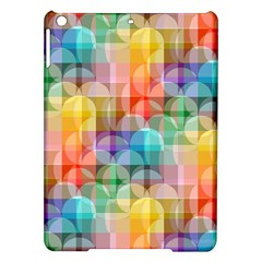 Circles Apple Ipad Air Hardshell Case by Lalita