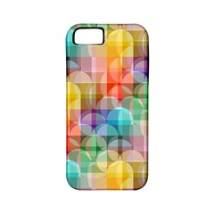 Circles Apple Iphone 5 Classic Hardshell Case (pc+silicone) by Lalita