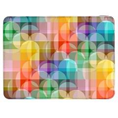 Circles Samsung Galaxy Tab 7  P1000 Flip Case