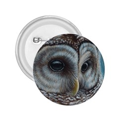 Barred Owl 2 25  Button by TonyaButcher