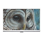 Barred Owl Business Card Holder Front
