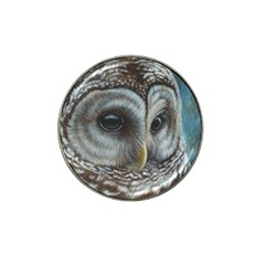 Barred Owl Golf Ball Marker 4 Pack (for Hat Clip) by TonyaButcher
