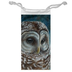 Barred Owl Jewelry Bag by TonyaButcher