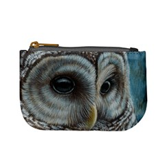 Barred Owl Coin Change Purse by TonyaButcher