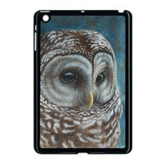 Barred Owl Apple Ipad Mini Case (black) by TonyaButcher