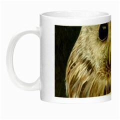 Tawny Owl Glow In The Dark Mug by TonyaButcher