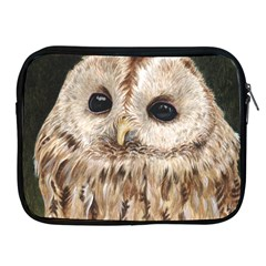 Tawny Owl Apple Ipad Zippered Sleeve by TonyaButcher