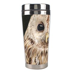 Tawny Owl Stainless Steel Travel Tumbler by TonyaButcher