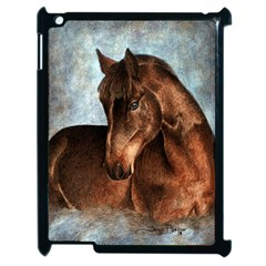 Midnight Jewel  Apple Ipad 2 Case (black) by TonyaButcher