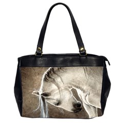 Humble Oversize Office Handbag (two Sides) by TonyaButcher