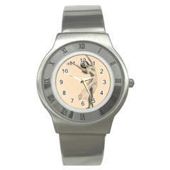 Graceful Dancer Stainless Steel Watch (slim) by TonyaButcher