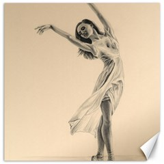 Graceful Dancer Canvas 12  X 12  (unframed)