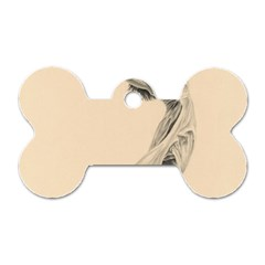 Graceful Dancer Dog Tag Bone (one Sided) by TonyaButcher
