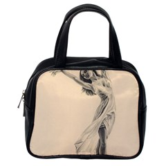 Graceful Dancer Classic Handbag (one Side)