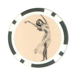 Graceful Dancer Poker Chip (10 Pack)