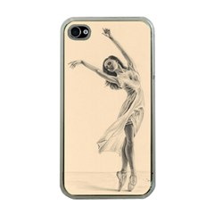 Graceful Dancer Apple Iphone 4 Case (clear) by TonyaButcher