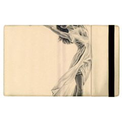 Graceful Dancer Apple Ipad 3/4 Flip Case by TonyaButcher